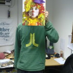 Sleeveface clown