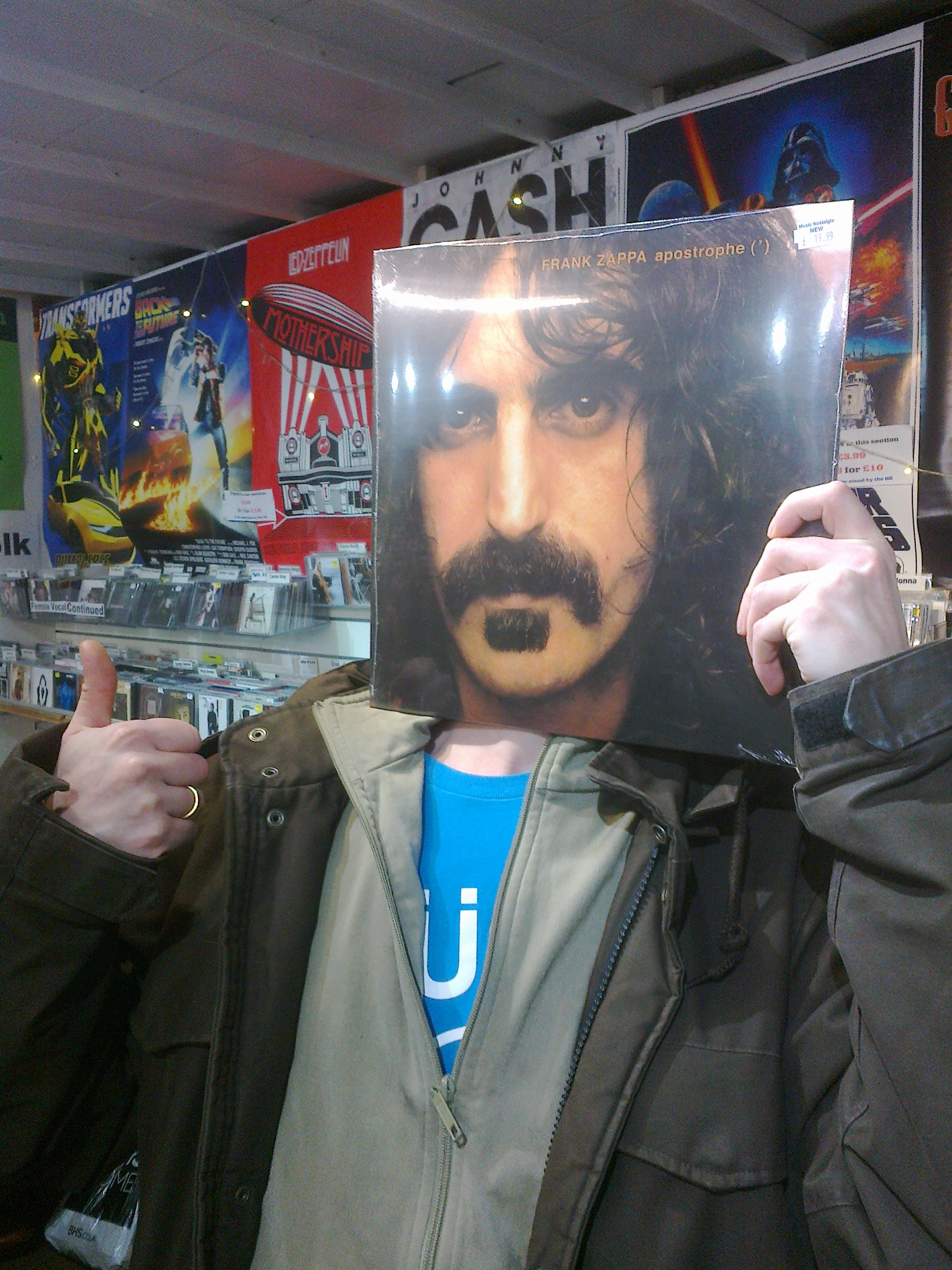 Frank Zappa Spotted In Cornwall Notes From The Drunken Monk